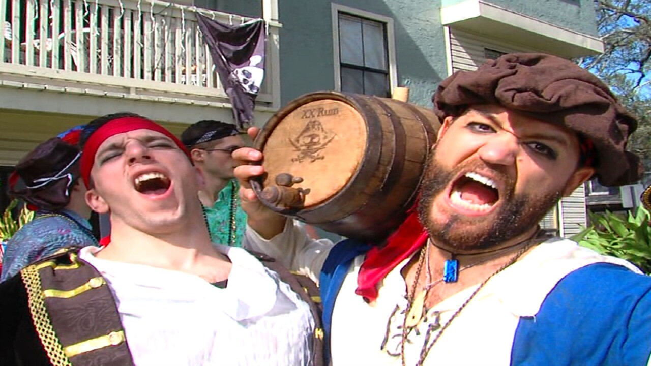 Gasparilla 2016 ends with few arrests