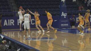 Joyce leads Air Force to late game comeback over Wyoming