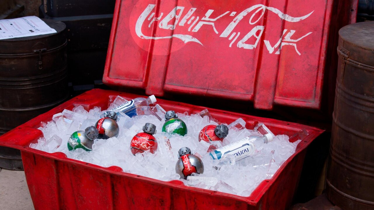 Coca-Cola and Disney partner for new 'Star Wars: Galaxy's Edge' land