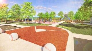Greenwood Sports Park rendering