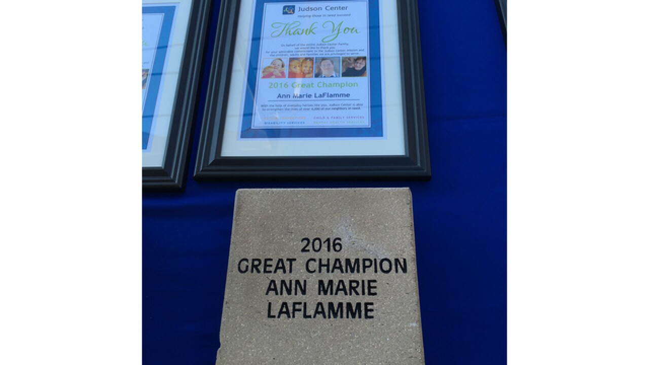 Judson Center honors Ann Marie LaFlamme and WXYZ