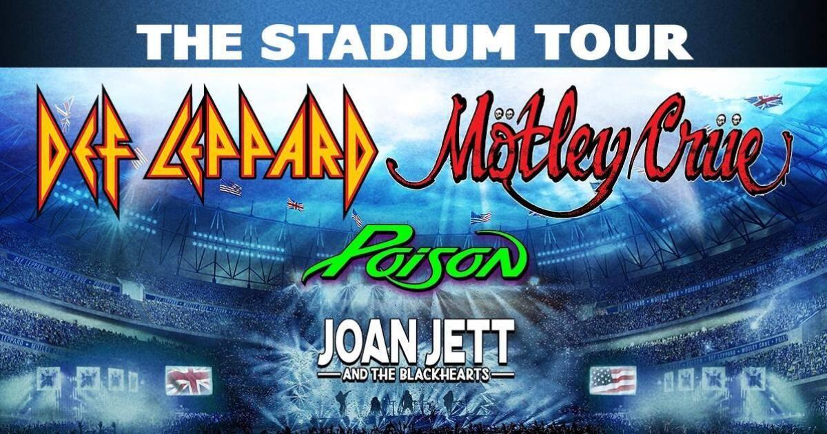 Def Leppard, Motley Crue, Poison bringing 2020 tour to Arizona