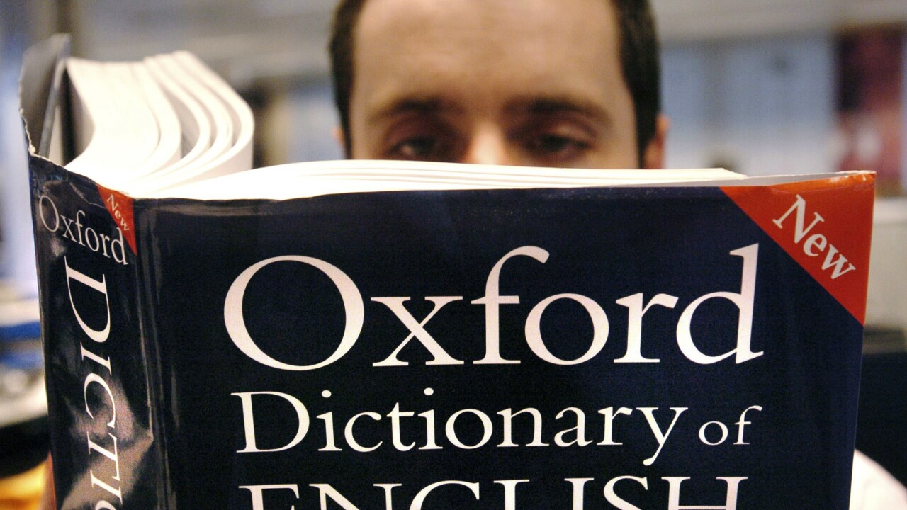 Oxford dictionaries update definitions of 'woman' and 'man'