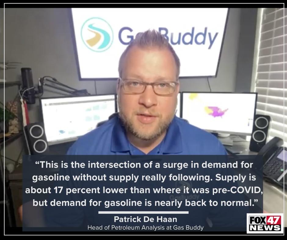Patrick De Haan, Head of Petroleum Analysis at Gas Buddy