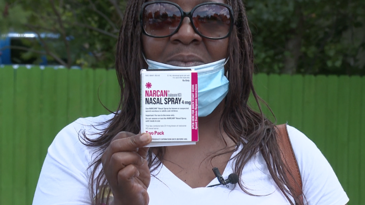 Donyenn Stewart picked up a box of Narcan at her local corner store, 5 months later, used it to save a life