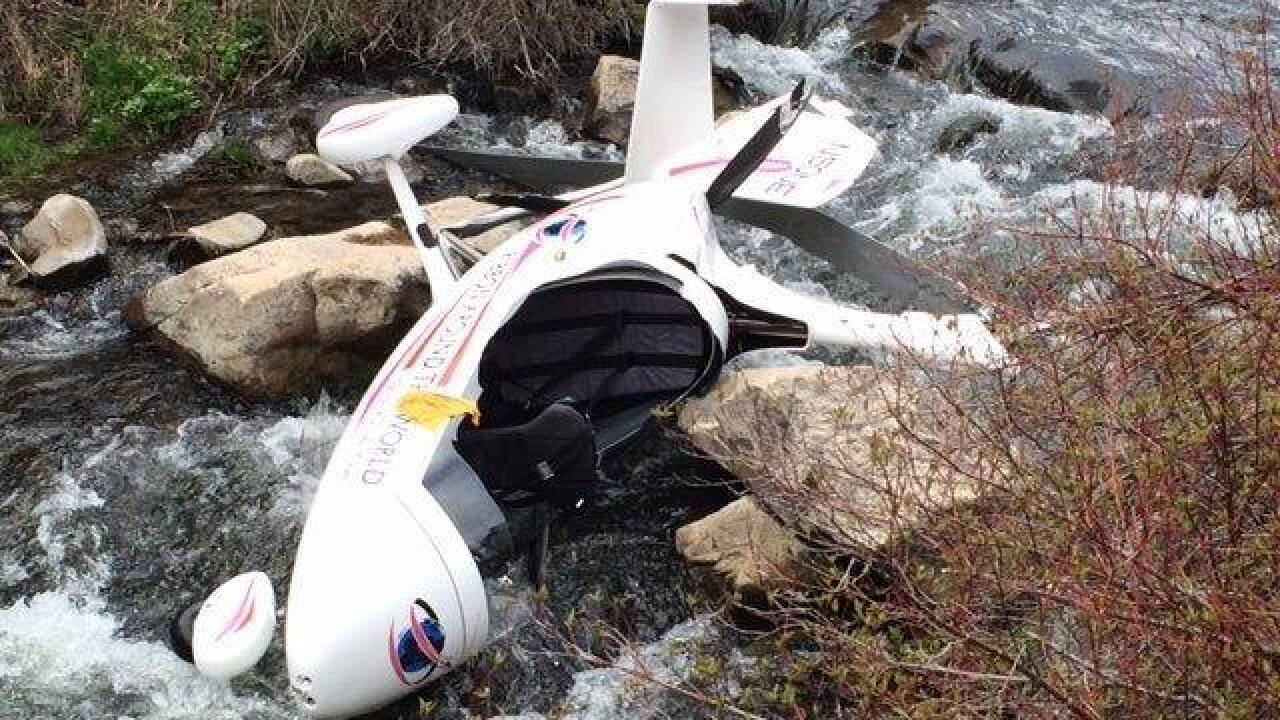 Two injured after gyrocopter crashes in Wasatch County