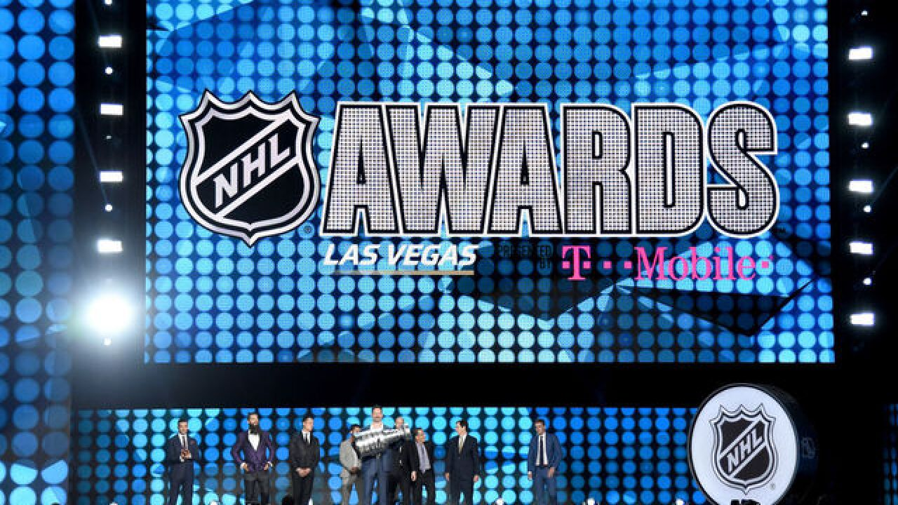 The NHL Awards will continue to be held in Las Vegas for the next 3 years