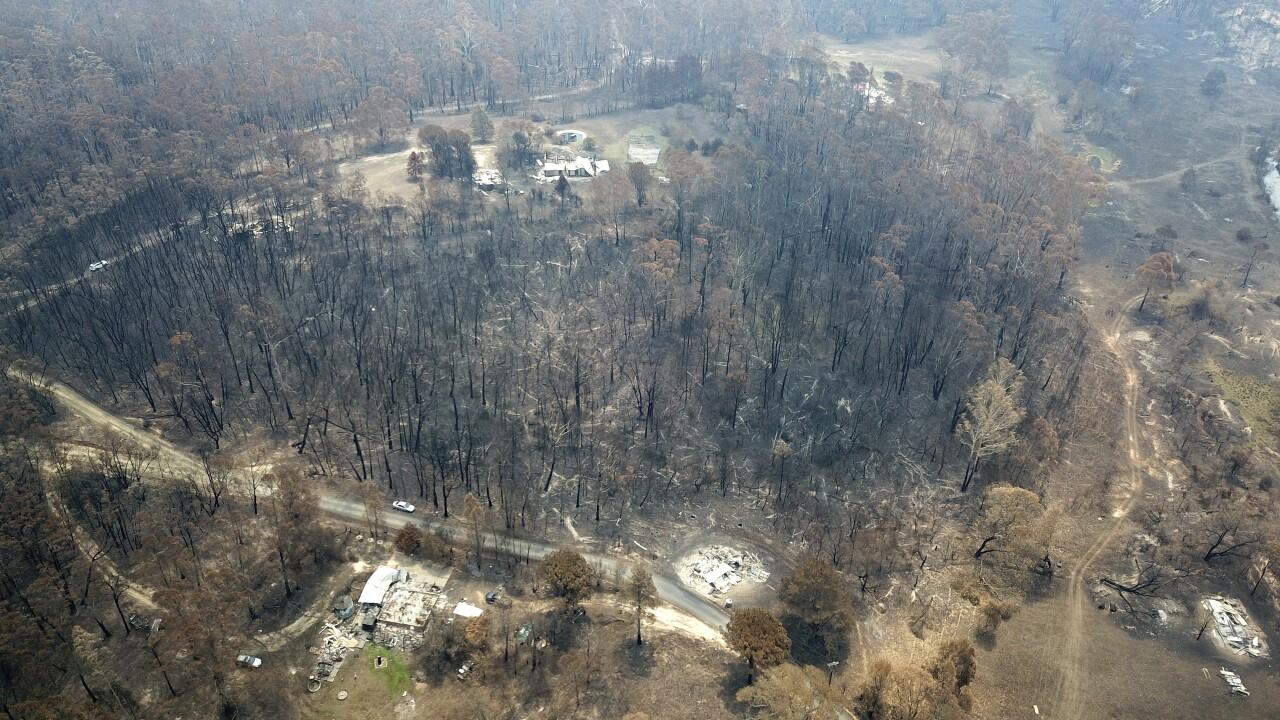 Americans help fight Australian bushfires