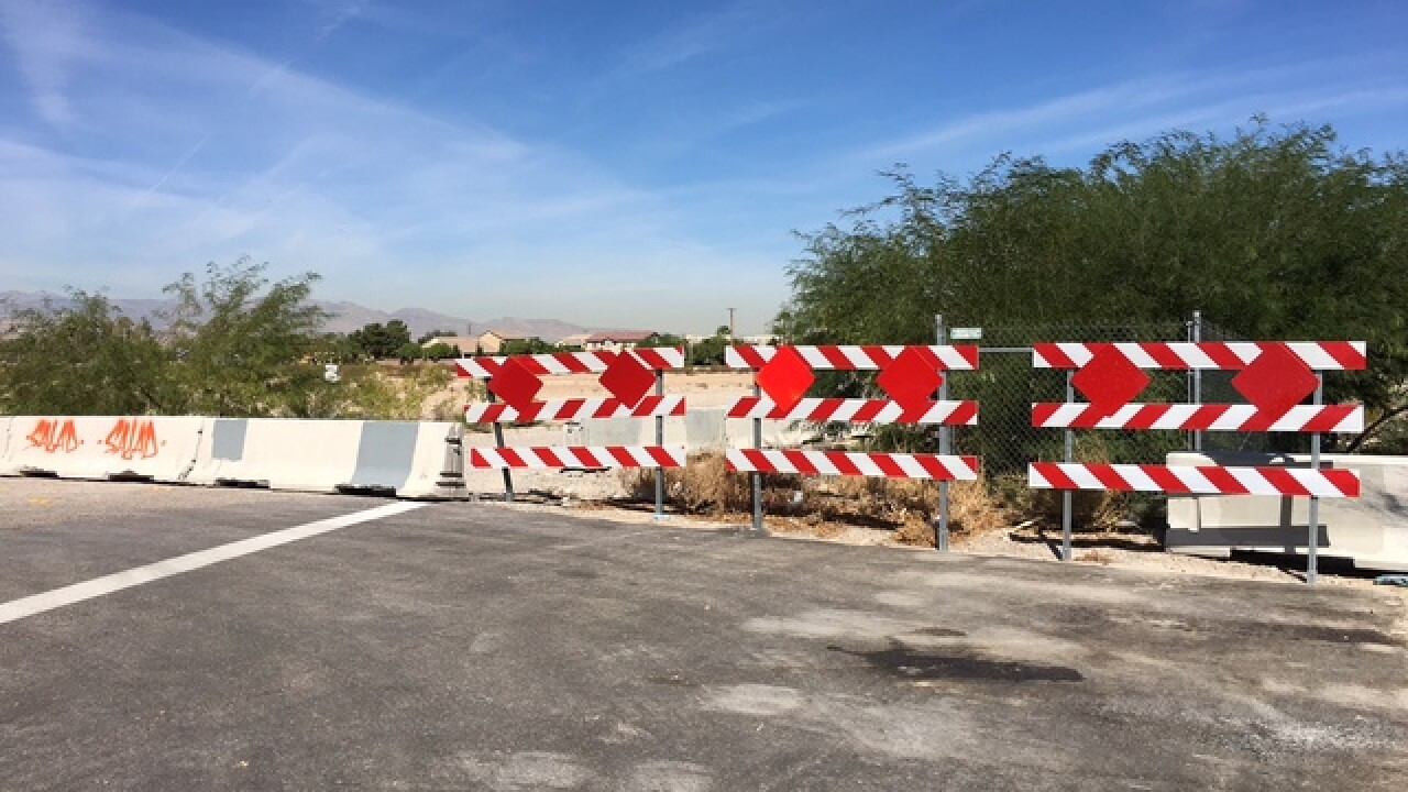 Drivers turn sidewalk into road in south vally