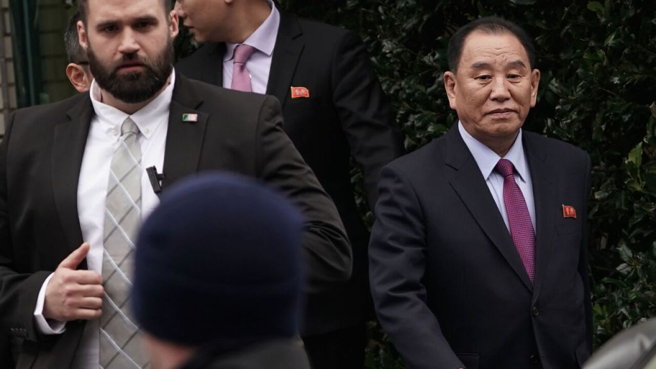 Secretary Of State Mike Pompeo Arrives For Meeting With North Korean Counterpart At A Washington, D.C. Hotel