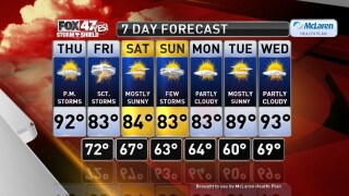 Claire's Forecast 7-9