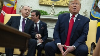 GOP senators air concerns during unusual White House meeting with Erdoğan