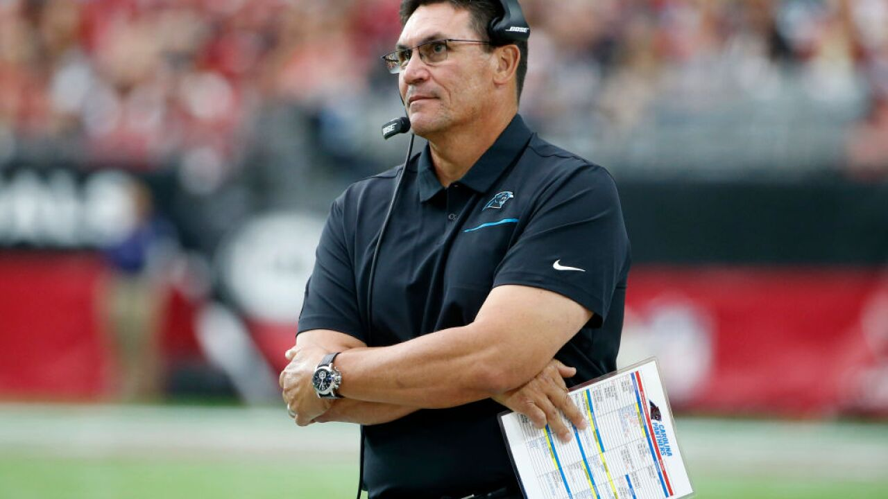 Carolina Panthers part ways with head coach