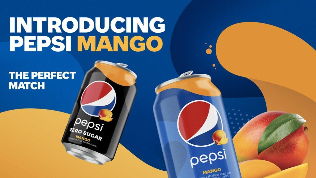 Pepsi Mango The Perfect Match