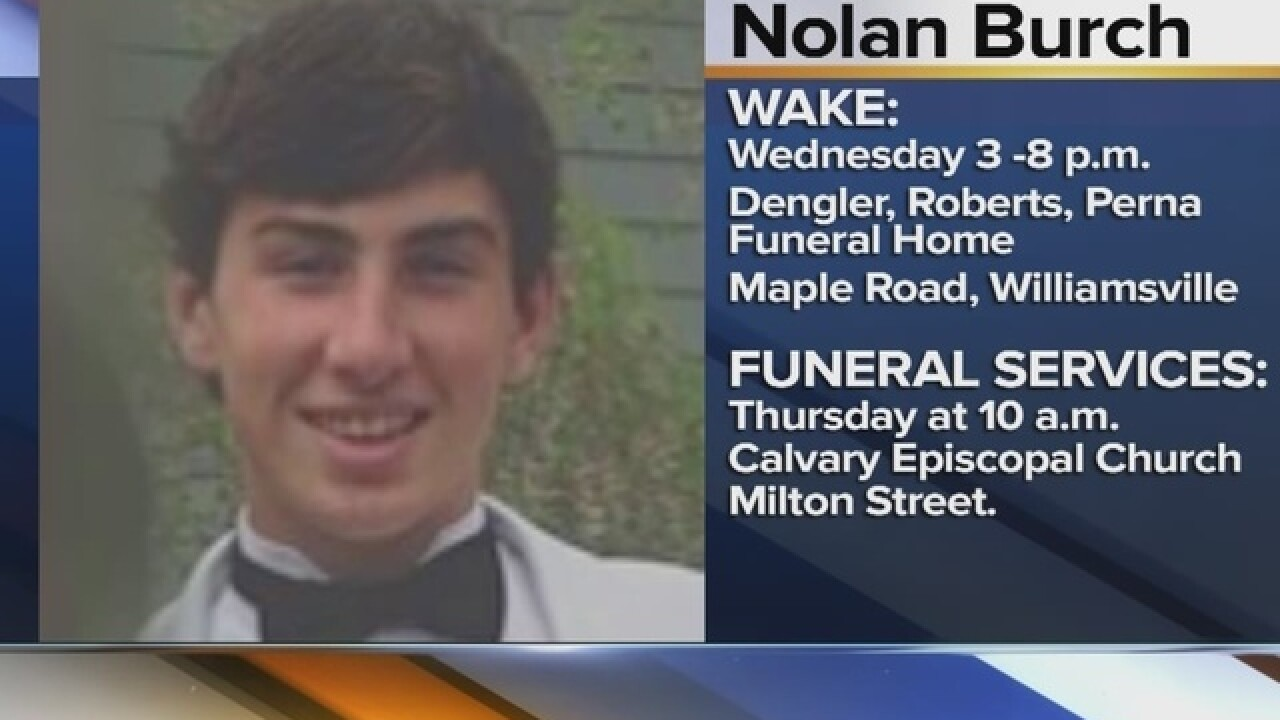 Funeral arrangements for teen found in frat house