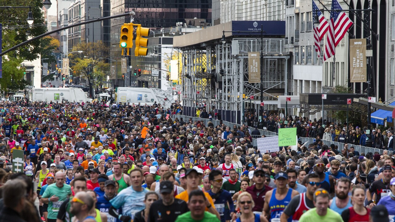 This year's New York City Marathon has been canceled due to COVID-19