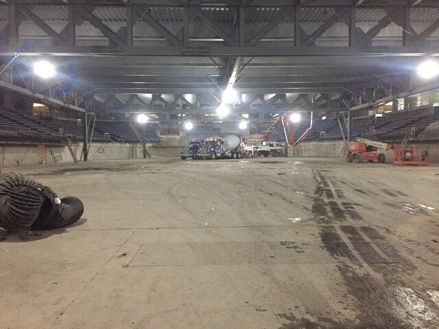 PHOTOS: Kemper Arena begins transformation