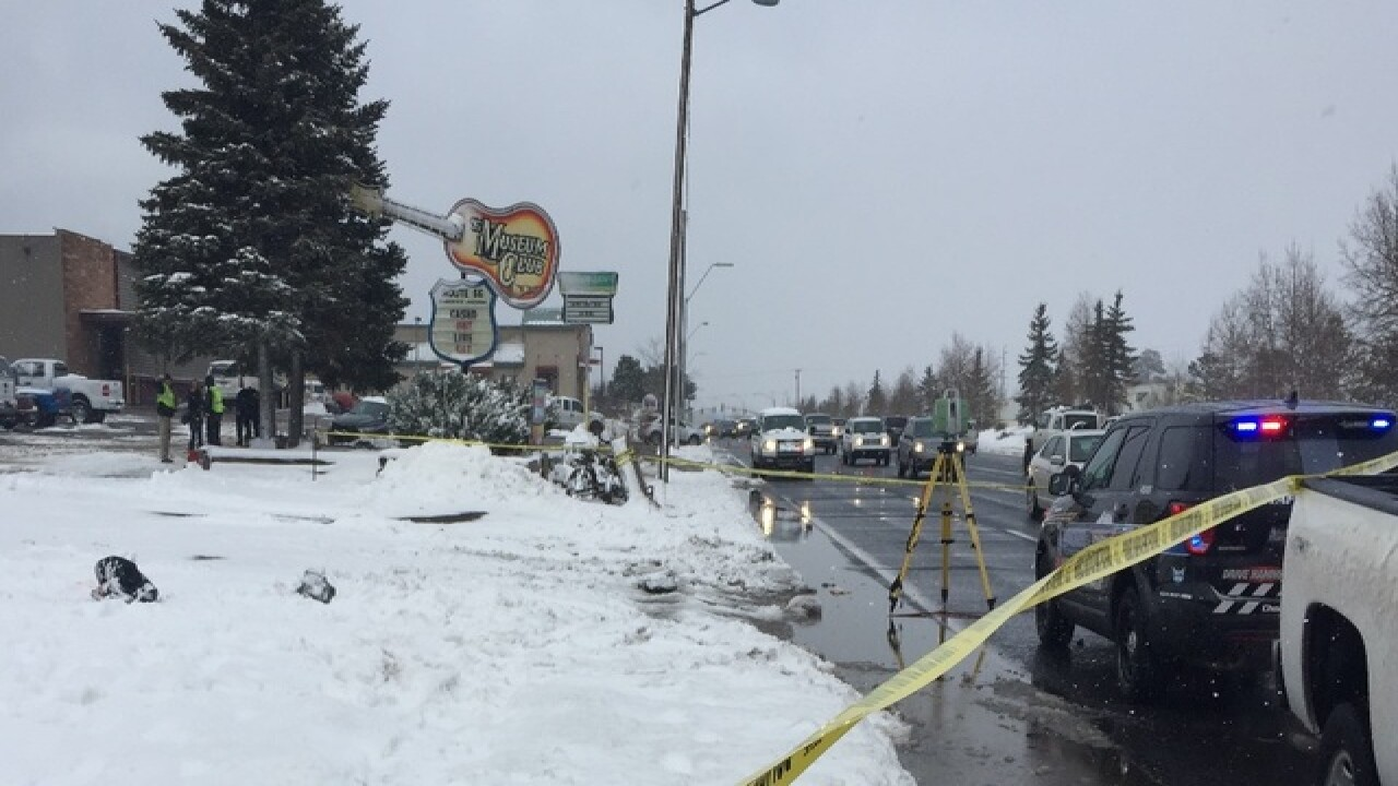 Pedestrian hit by snow plow in Flagstaff