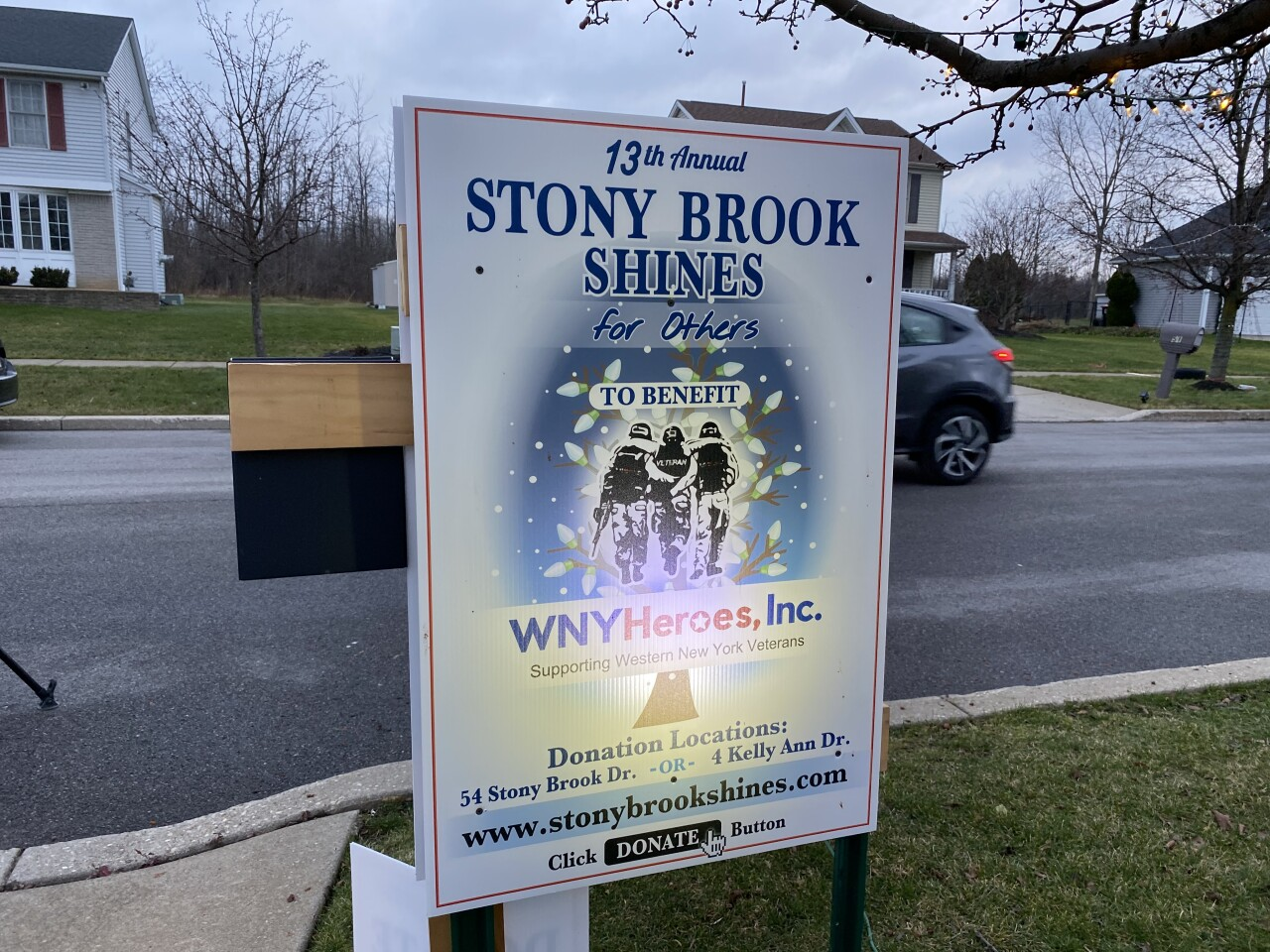 Stony Brook Shines has donated more than $100,000 since 2008