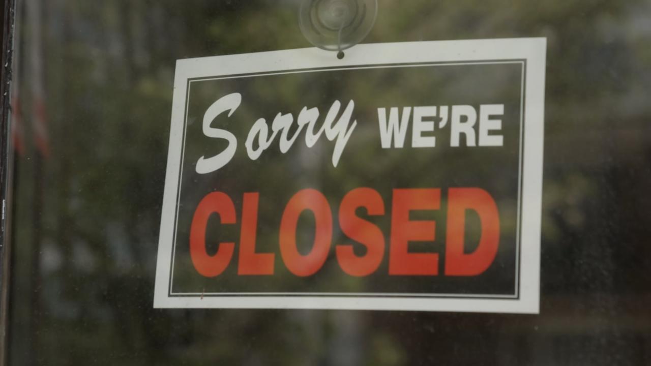 Restaurant industry worries of job loss, closures amid second round of shutdowns