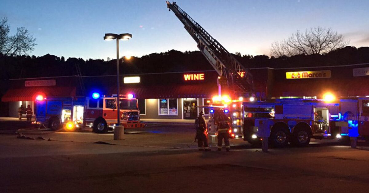 Fire at Colorado Springs strip mall now under control