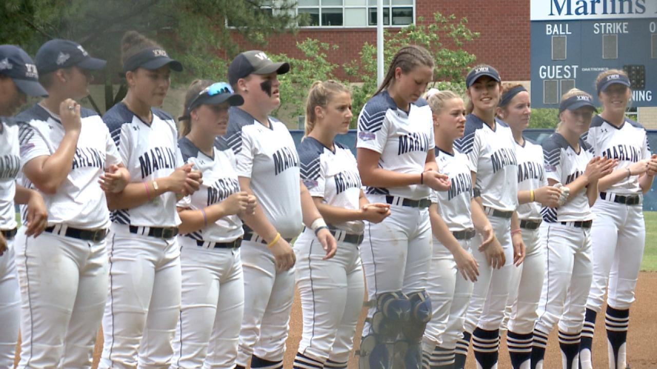 Rain ruins final inning of Virginia Wesleyan and Berry College's Super Regionalgame