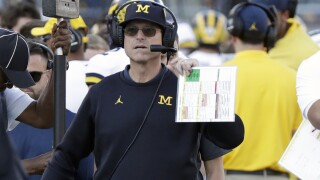 Michigan Harbaugh Football