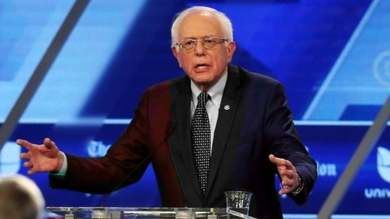 Major networks decline carrying Sanders speech