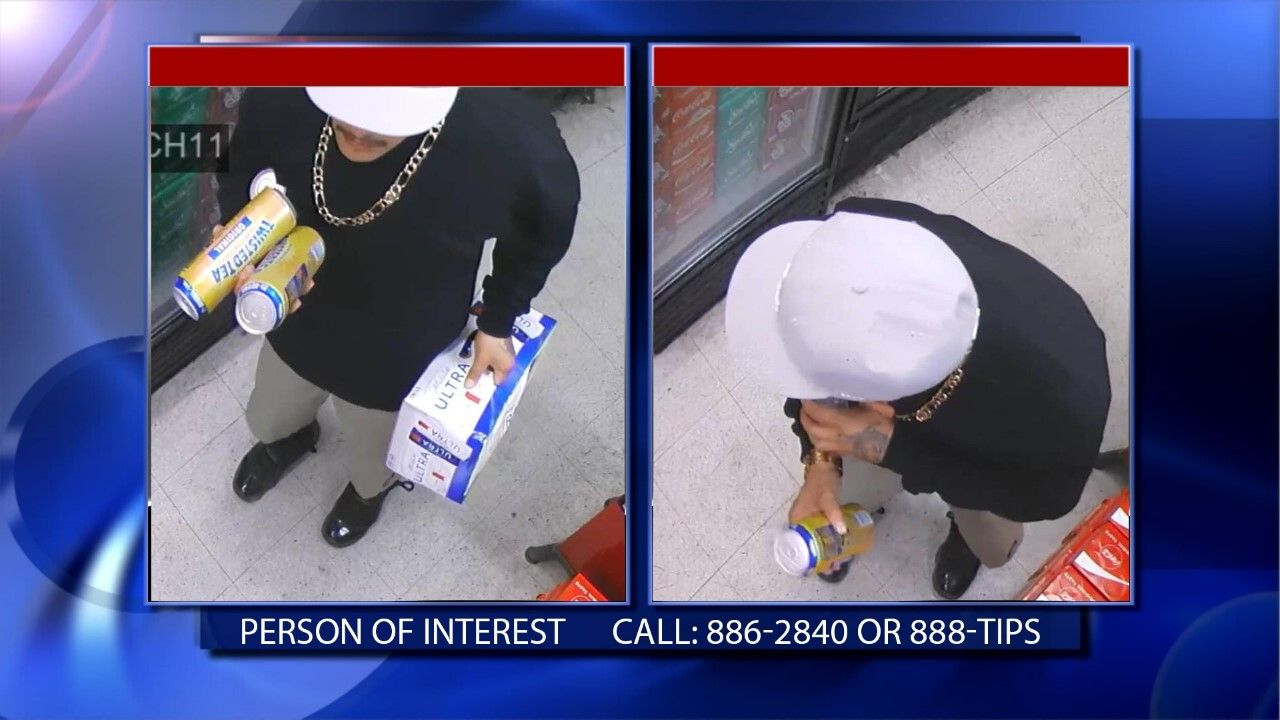 Person of interest with weekend homicide