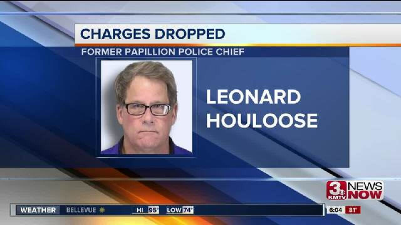 Former Papillion Police Chief gets alcohol-related charges dropped