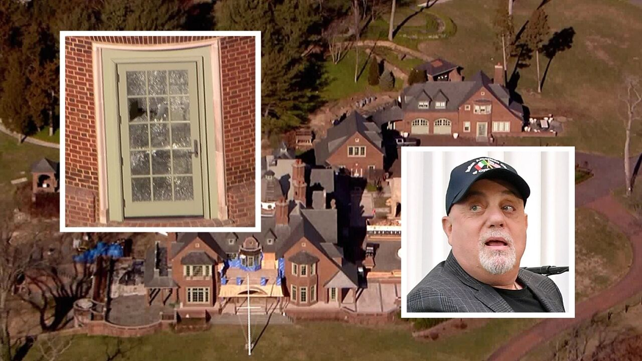 Billy Joel's Long Island home reportedly broken into, vandalized