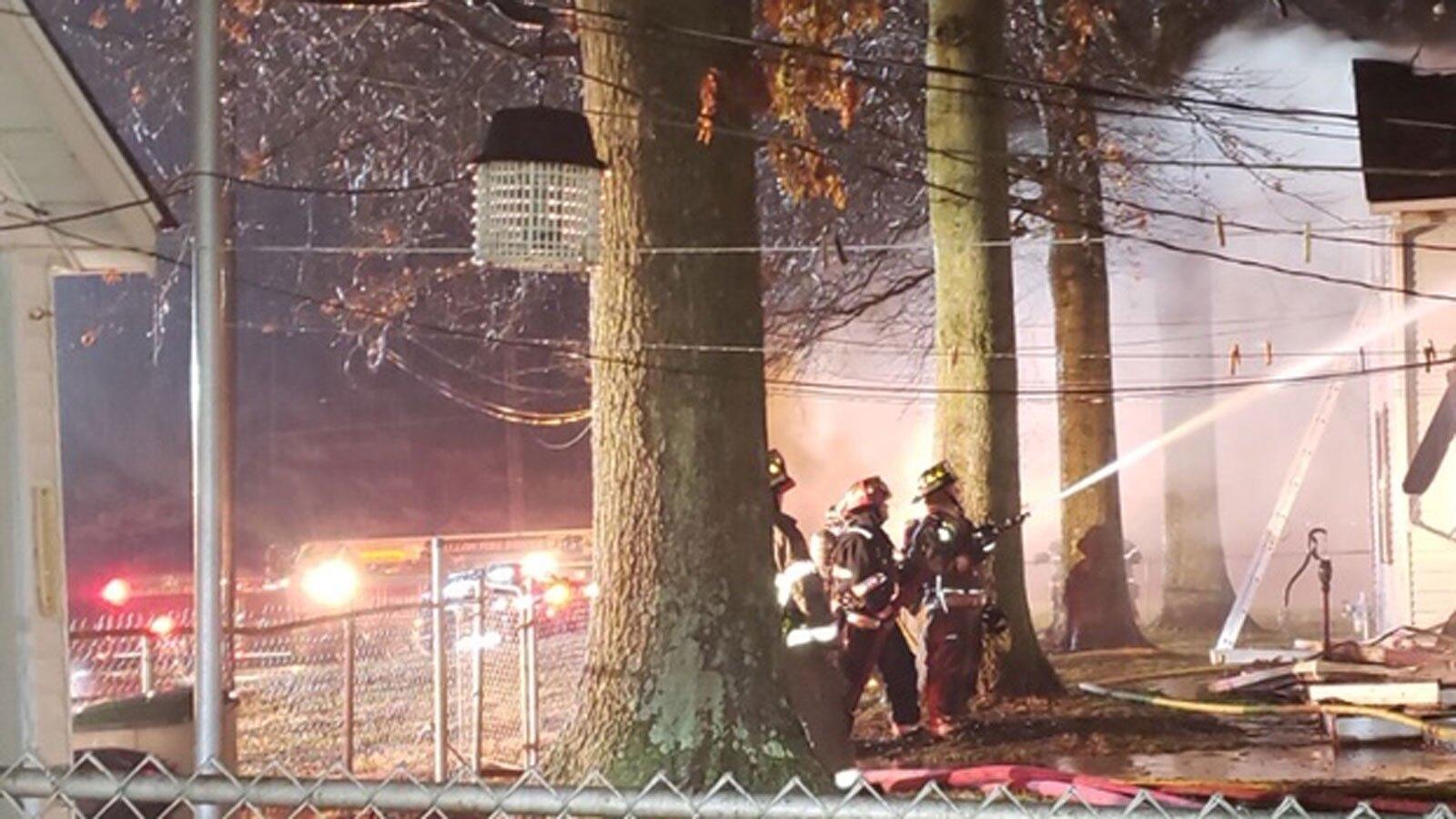 Photos: Fire destroys hospice home for senior and terminalpets