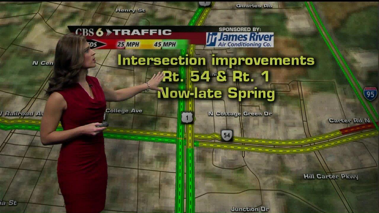 WATCH: Intersection improvements begin inAshland