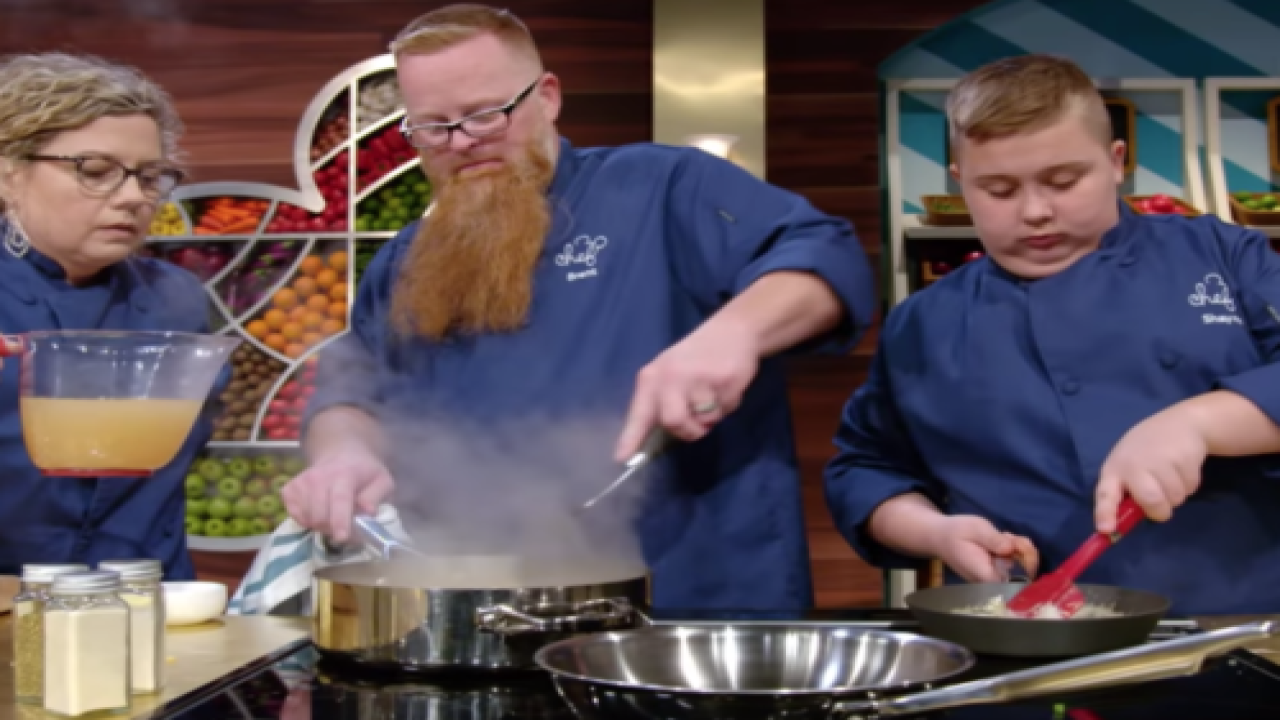Families Compete To Make Dishes Inspired By Disney Characters In New Cooking Show 'Be Our Chef'