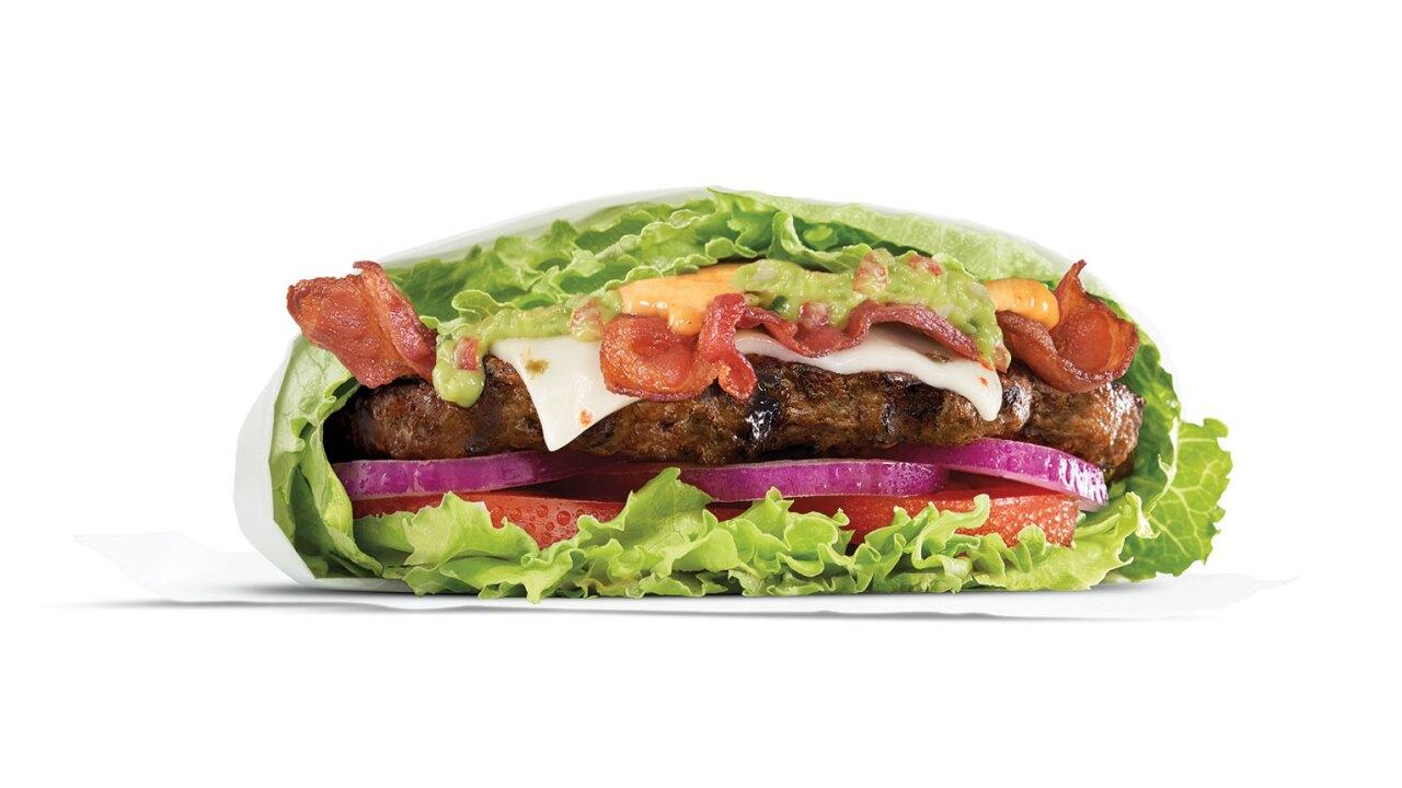 Carl's Jr. Guacamole Bacon Thickburger LettuceWrap.jpg