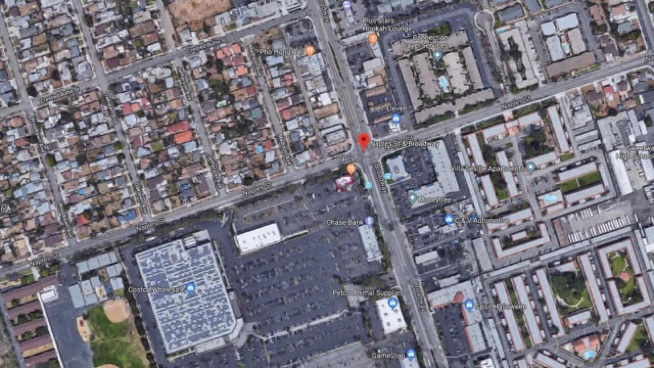 Body found near trash bin at Chula Vista strip m