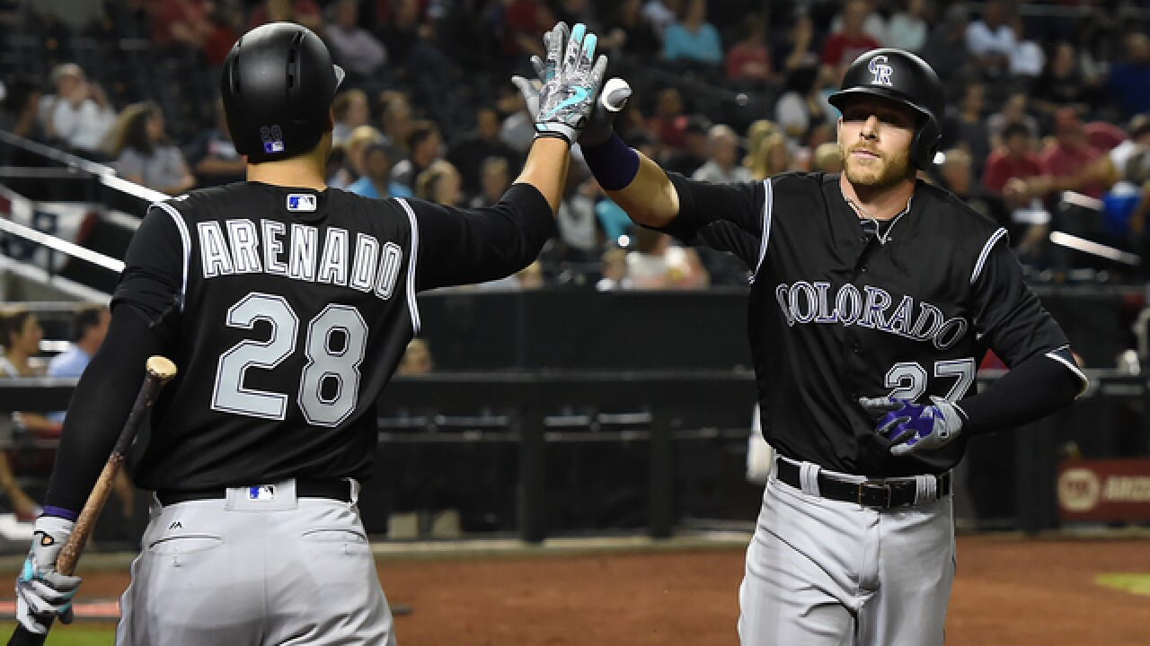 Trevor Story hits another HR in Rockies loss