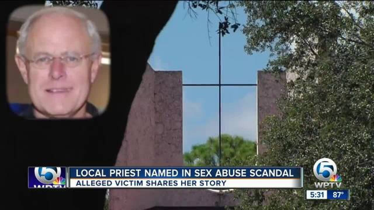 Local priest named in sex abuse scandal