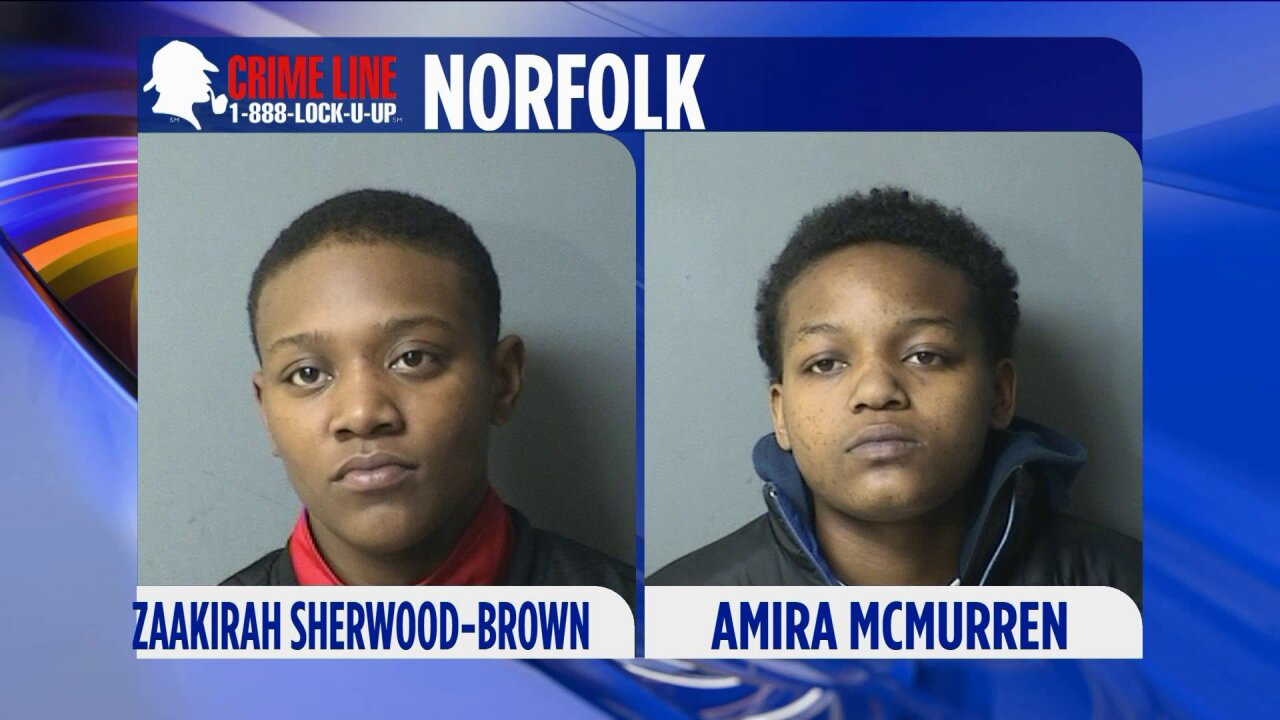Norfolk Police searching for women accused of hitting deputy withcar