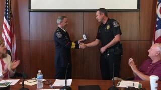 Newtown Ohio police hero