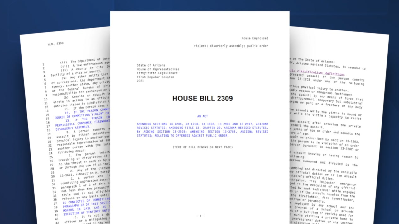 Bill HB2309