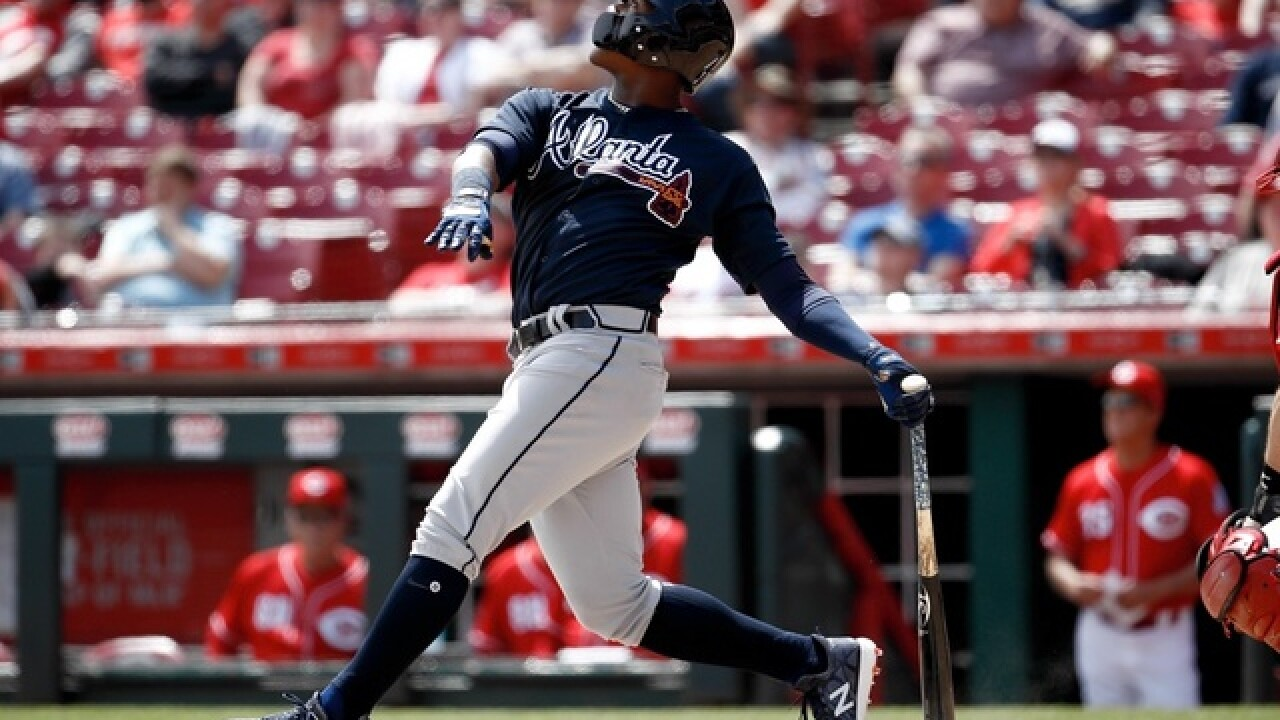 Acuna, Albies homer as Braves win 7-4, drop Reds to 5-20