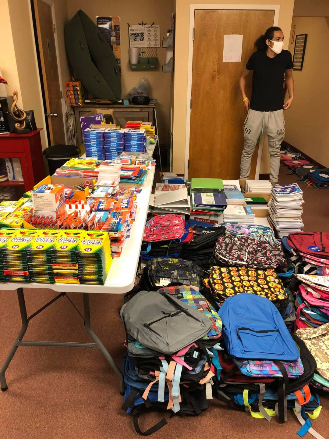 Black Lives Matter: Tampa donates hundreds of backpacks, school supplies to kids