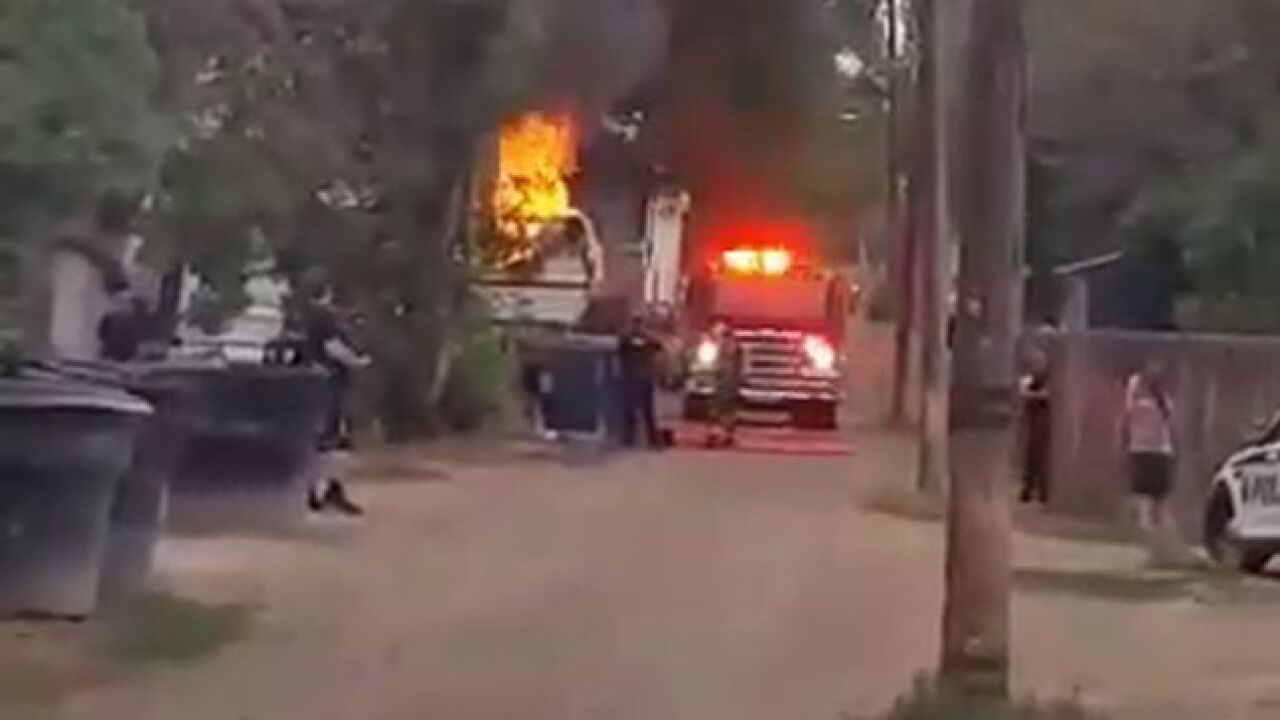 No injuries reported in Great Falls trailer fire