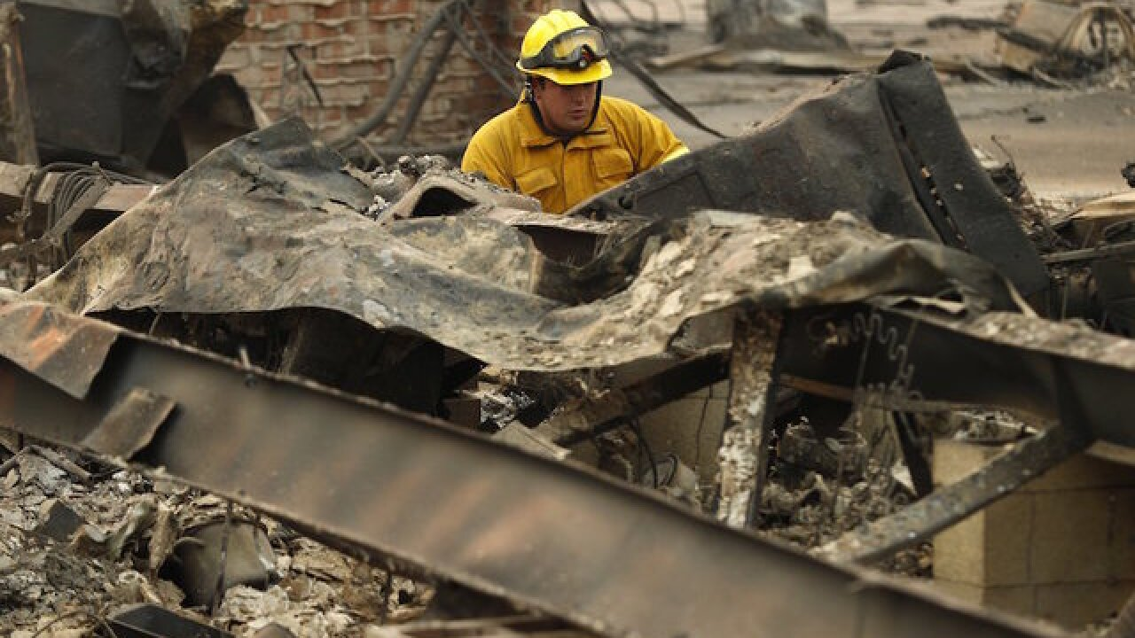 California Fire officials increase death toll to 42 marking deadliest fire in state history