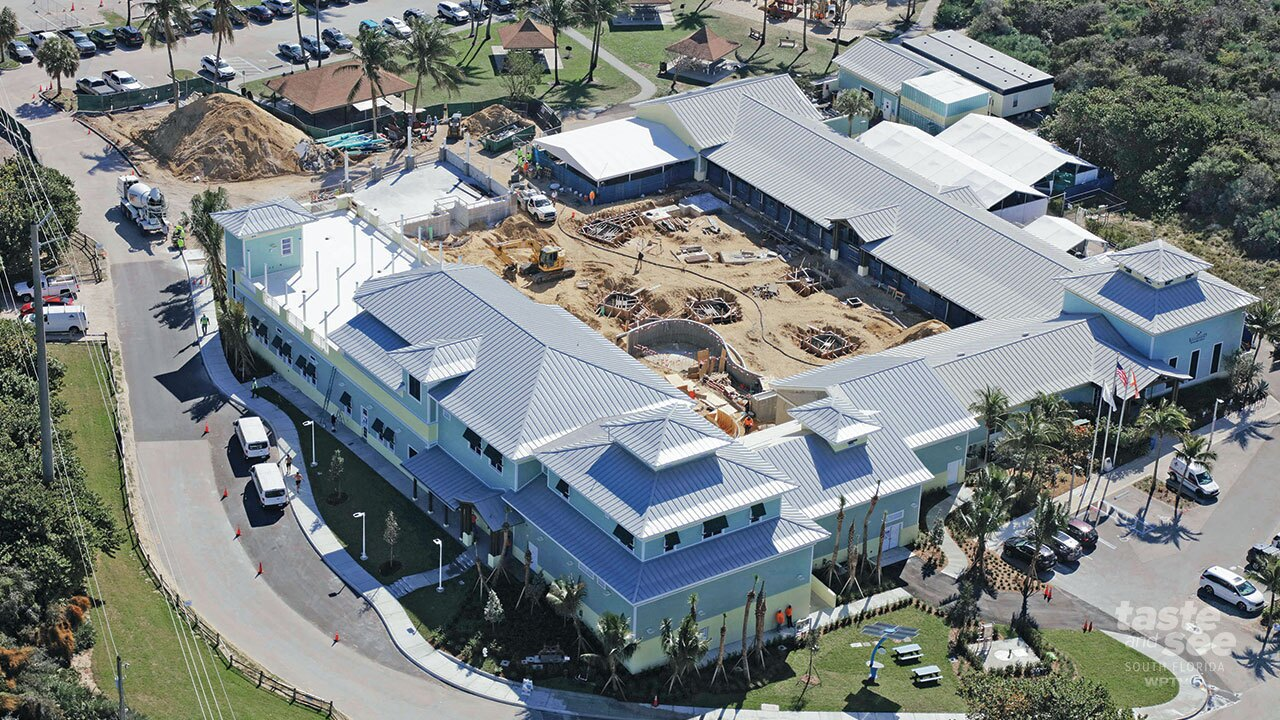Loggerhead Marinelife Center set to be fully open by late fall 2021.