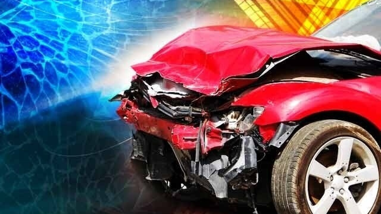 Two juveniles, one adult in hospital following crash near Burley