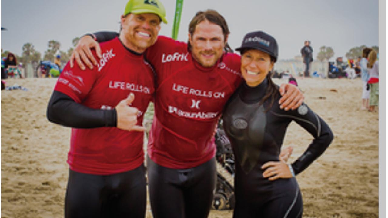 Virginia Beach event gets paraplegics and quadriplegics back on boards, hitting thewaves