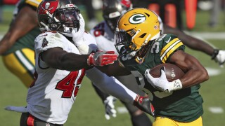 APTOPIX Packers Buccaneers Football