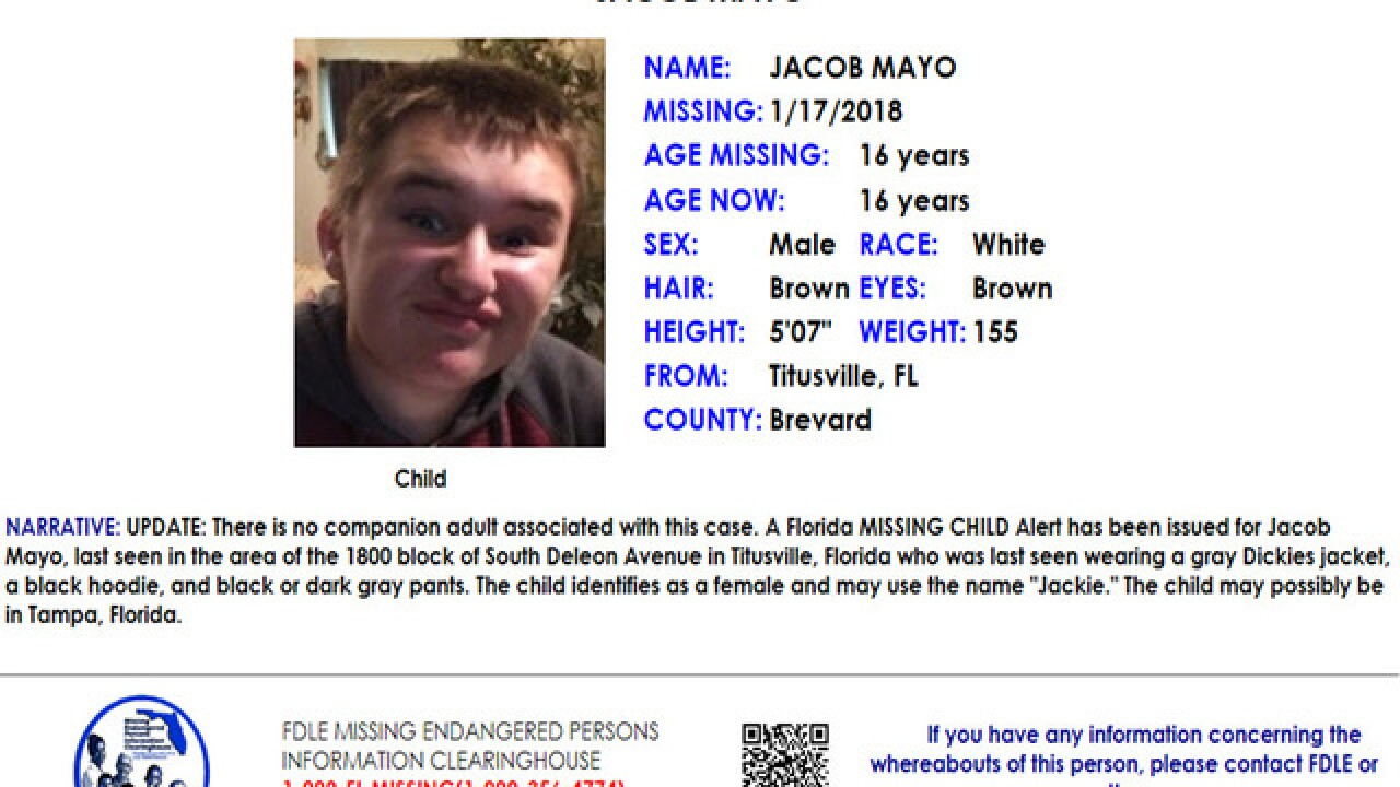Florida 16-year-old missing for almost 2 weeks